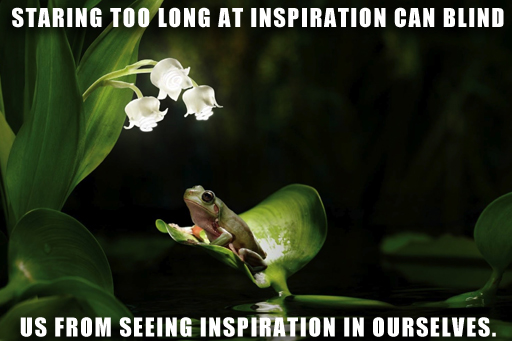 inspiration blindness