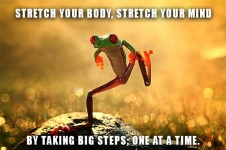 take big steps